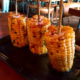 Corn Skewers - Catch New York, New York, NY