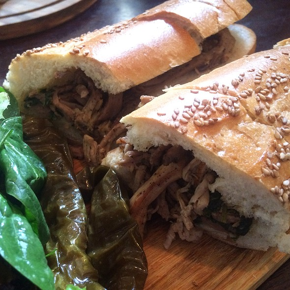 South Philly Pork @ Stove & Tap