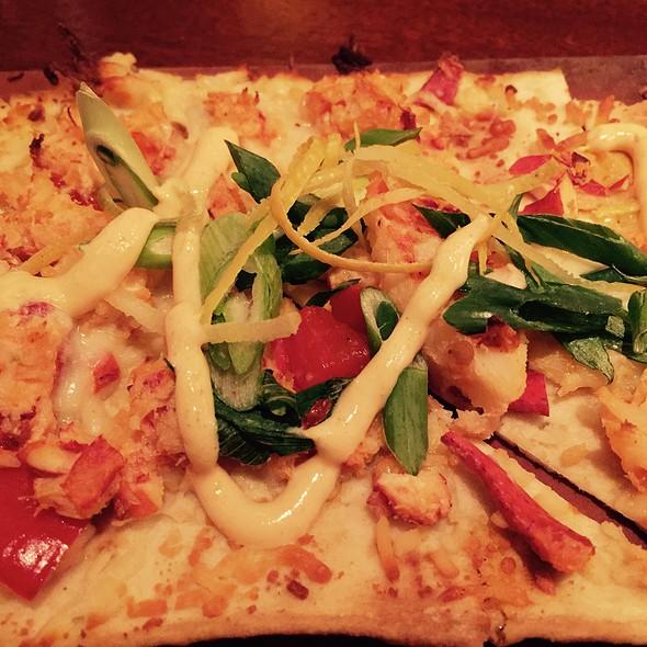 Lobster & Crab Flatbread - Seasons 52 - Ft. Lauderdale, Fort Lauderdale, FL