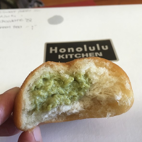 Green Tea Fried Manapua
