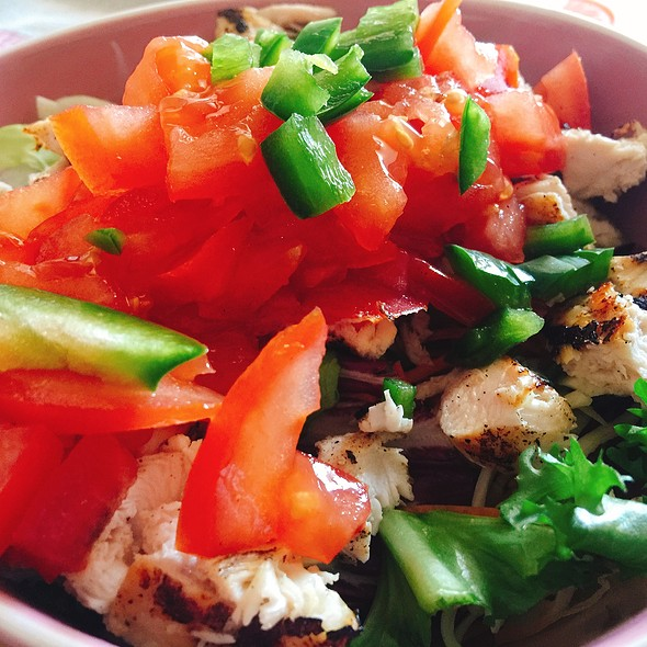 Mixed Salad With Grilled Chicken Breast And Soy @ ./lsd Cooking Pot