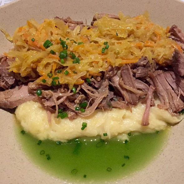 Canitas With Mexican Kruat And Tomatillo Broth And @ dos Urban Cantina