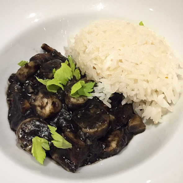 Octopus With Squid Ink And Rice @ dos Urban Cantina