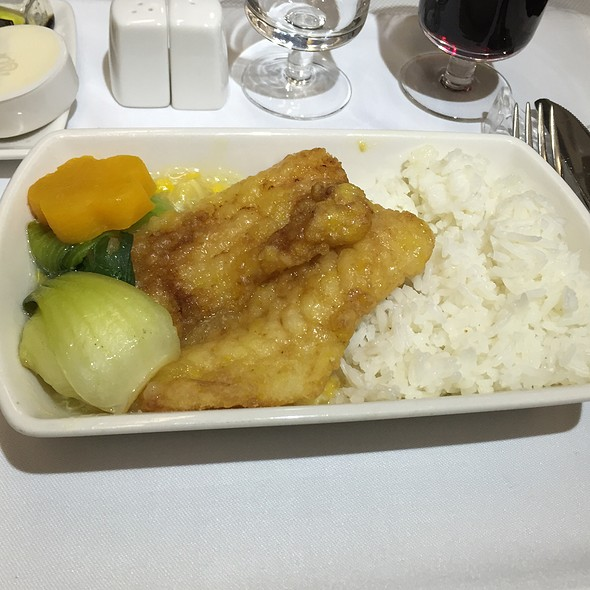 Deep Fried Fish Filet @ Dragon Airlines