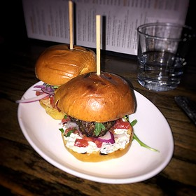Spicy Lamb Sliders  - Cava Mezze - DC, Washington, DC
