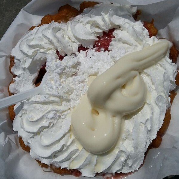 Funnel Cake @ Churros-Pier Bakery