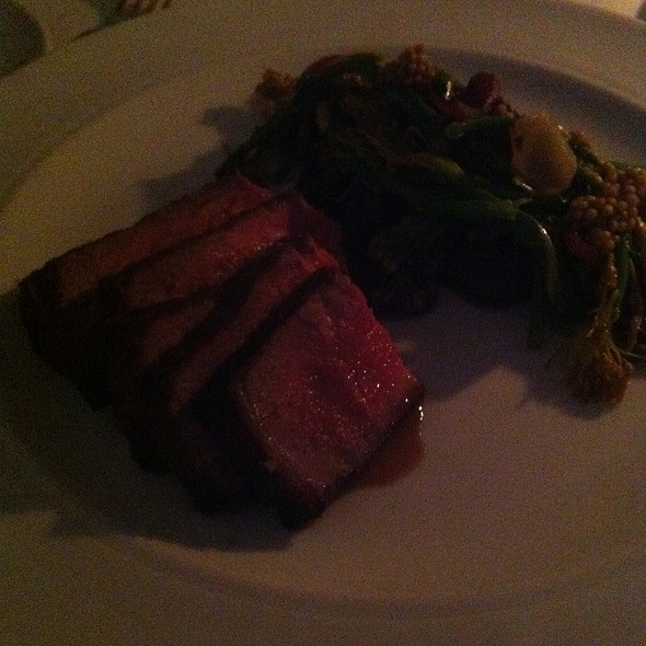 Blue Goose Organic Beef @ Bishop's Restaurant