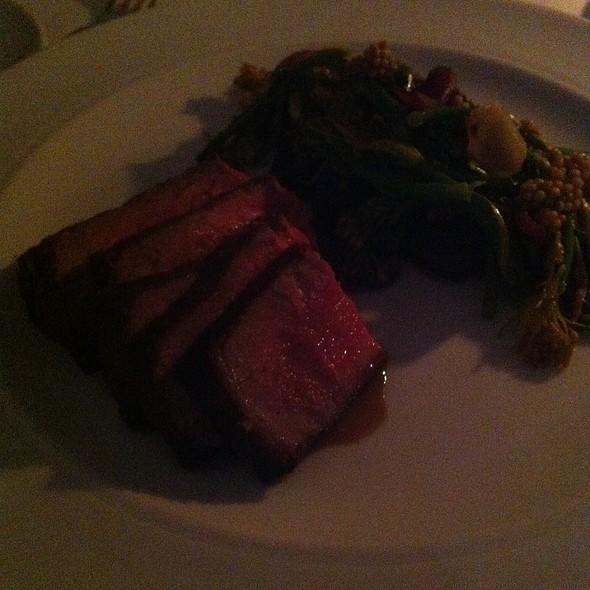 Blue Goose Organic Beef @ Bishop's Restaurant