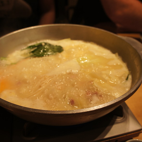 Bubbling Chicken Hot Pot @ Toriden とり田 博多本店