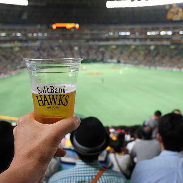 Kirin draft @ Fukuoka Yahuoku! Dome