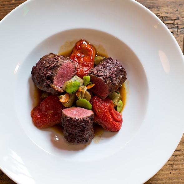 Lamb Loin - Kendall's Brasserie, Los Angeles, CA