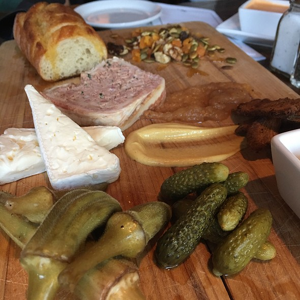 Meat & Cheese Platter @ Dressel's Pub