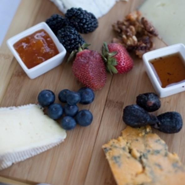 Cheese Plate - SeaBlue Restaurant & Wine Bar, North Myrtle Beach, SC