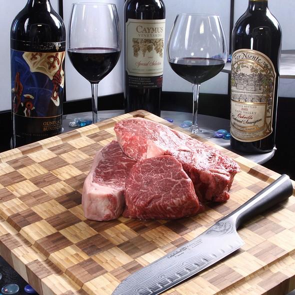 Dry-Aged USDA Prime Steaks - SeaBlue Restaurant & Wine Bar, North Myrtle Beach, SC