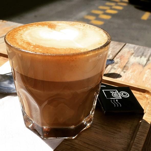 Espresso Macchiato Double Shot @ OR Espresso Bar