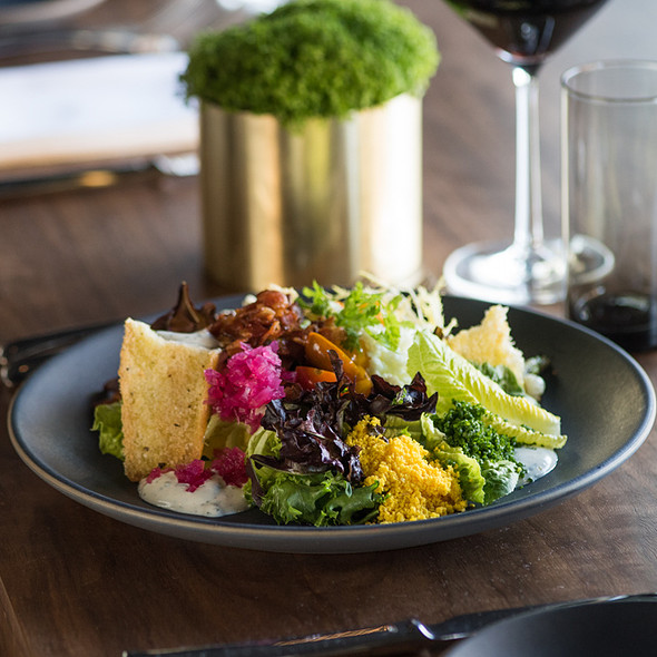 Lettuce Wedge salad - Nick & Stef's Steakhouse - Los Angeles, Los Angeles, CA