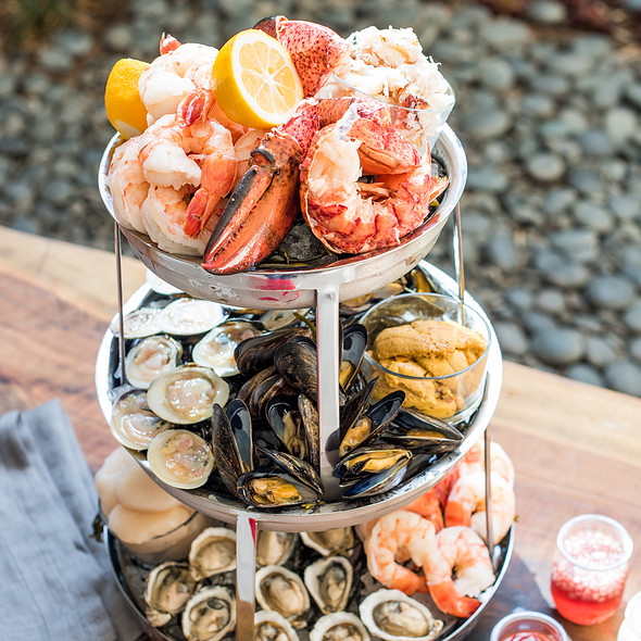 Seafood Tower - Nick & Stef's Steakhouse - Los Angeles, Los Angeles, CA