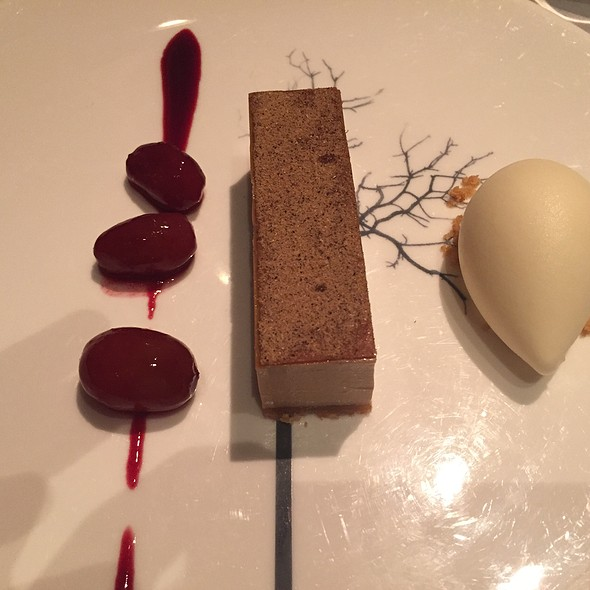 Brown Sugar Tart, Stem Ginger Ice Cream - The Ledbury, London