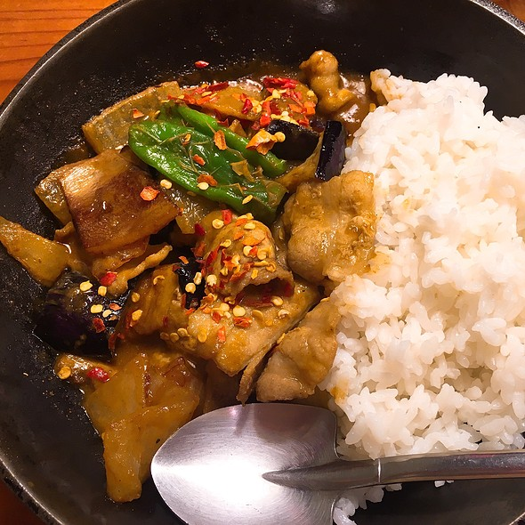 Eggplant and Pork Curry @ Camp Express@所沢駅