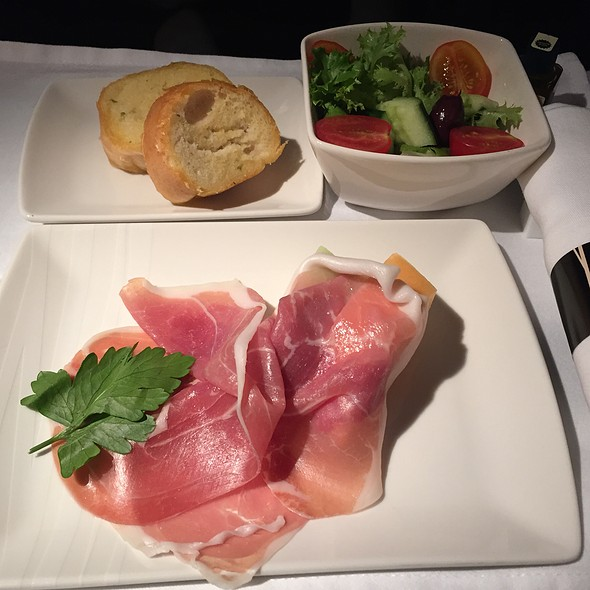 Parma Ham And Melon @ Cathay Pacific