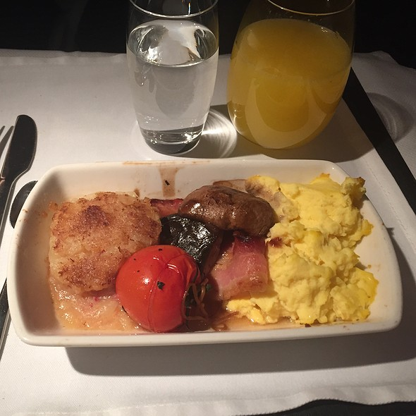 Breakfast Scramble @ Cathay Pacific