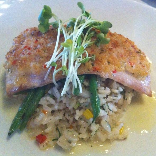 Panko Crusted Mahi Mahi @ Silo Elevated Cuisine