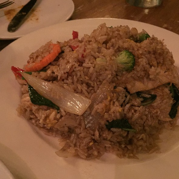 Green Curry Fried Rice @ Born Thai