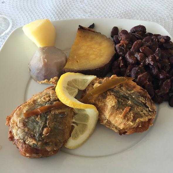 Stuffed Mackeral @ Cervejaria Restaurante Melo Abreu
