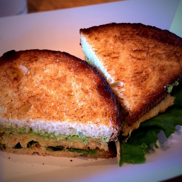 Crab Cake Sandwich @ Boudin Sourdough Bakery & Cafe: Fisherman's Wharf