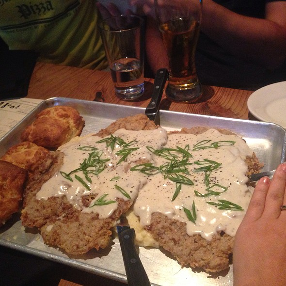 Family Sized Chicken Fried Steak @ Hay Merchant