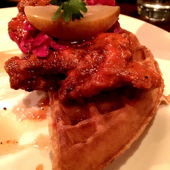 Hot Chicken & Waffle @ Red Rooster