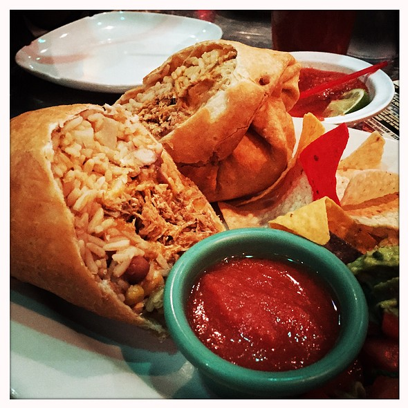 Deep Fried Burrito @ Mexicali