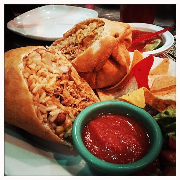 Deep Fried Burrito @ Mexicali