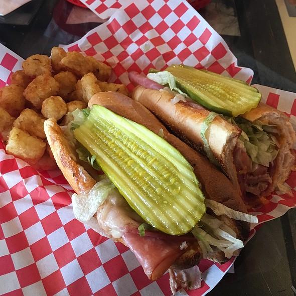 Firehouse Cuban Sandwich @ Sparks Firehouse Deli