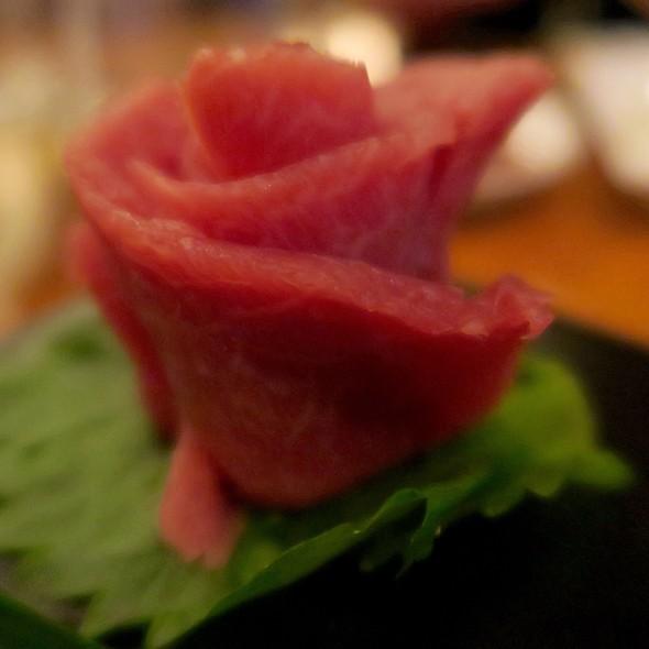 Bluefin Tuna Toro Sashimi - BARMASA - Aria, Las Vegas, NV