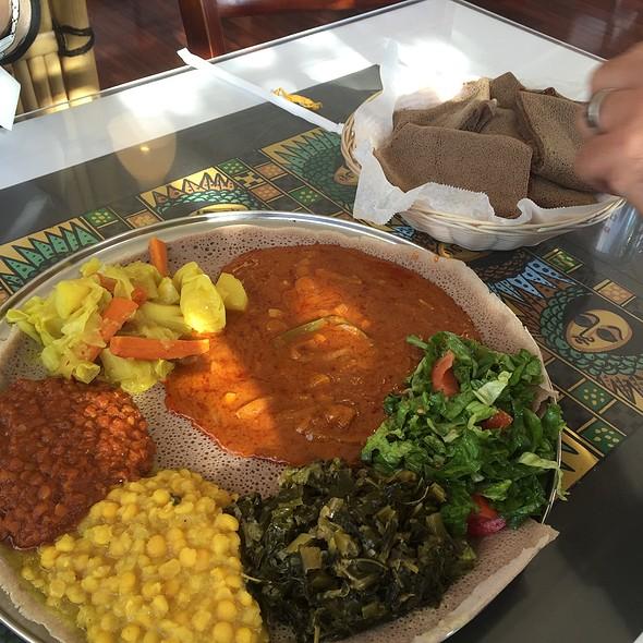 Vegetarin Combo @ Addis Ethiopian Restaurant