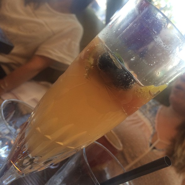 Champagne Sangria @ Ox & Son