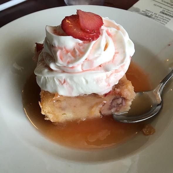 Strawberry Bread Pudding @ Cajun Connection