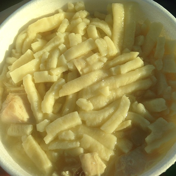 Chicken And Noodles @ Page's Iga