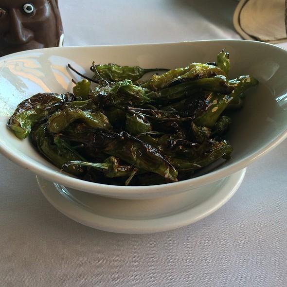 Fried Shishito Peppers w/olive Oil & sea Salt - Bali Hai Restaurant, San Diego, CA