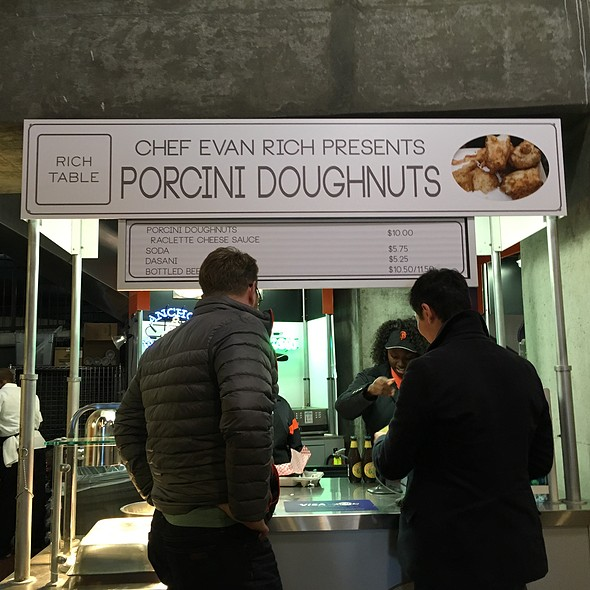 Porcini Doughnuts @ AT&T Park