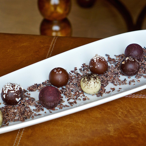 Chocolate Bonbons - Ristorante Cavour at the Hotel Granduca, Houston, TX