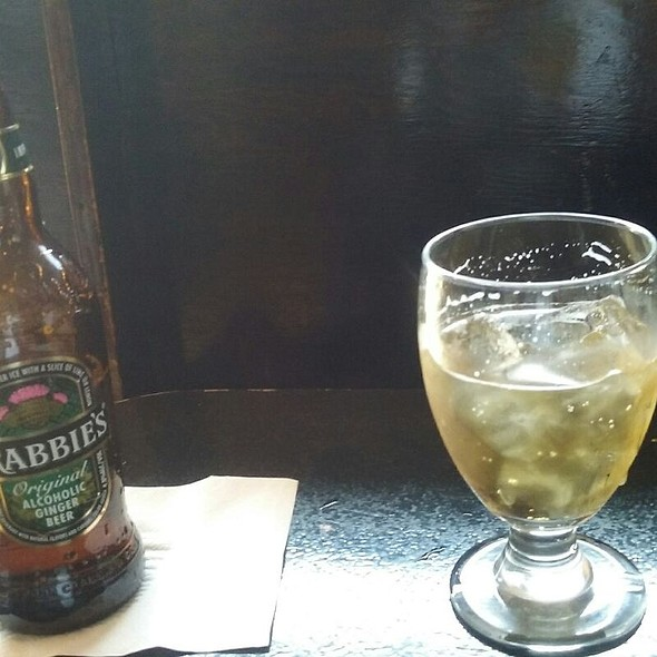 Crabbie's Original Alcoholic Ginger Beer @ Boka Tako Bar