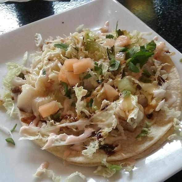 Fish Taco (grilled whiting seasonal fruit sweet soy) @ Boka Tako Bar