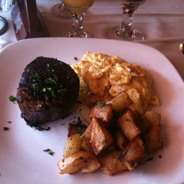 Steak and Eggs - Soffritto Italian Grill, Newark, DE