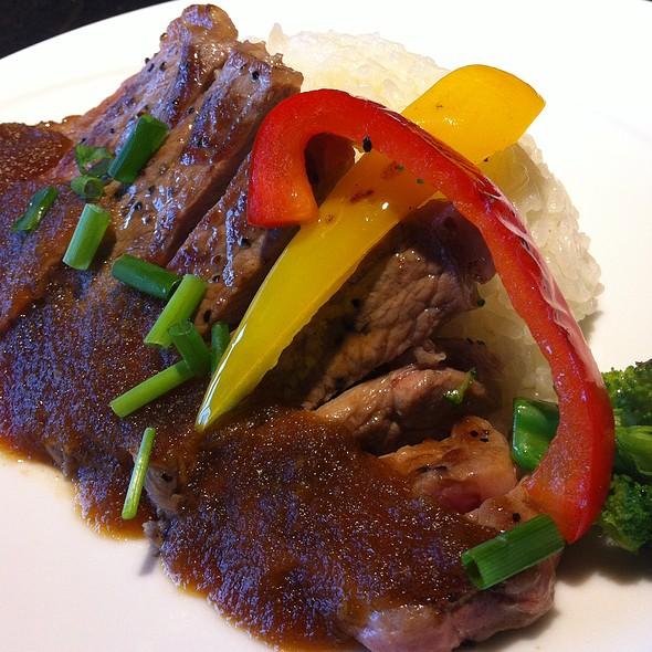Beef Steak Plate @ Yokohama Landmark Tower