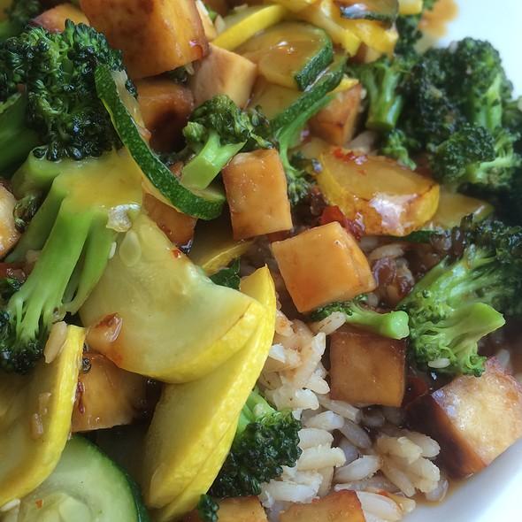 Tofu Vegetable Stir Fry @ Highmark Cafe