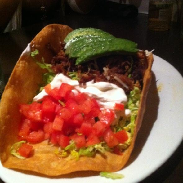 Taco Steak Salad @ The Prickly Pear Cantina
