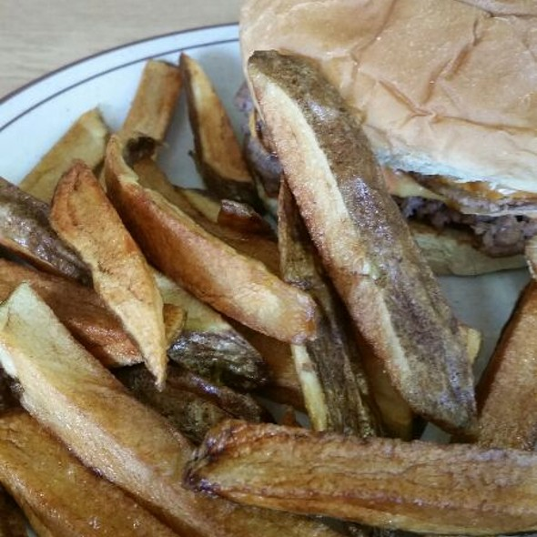 Fries @ Chat-N-Nibble Restaurant