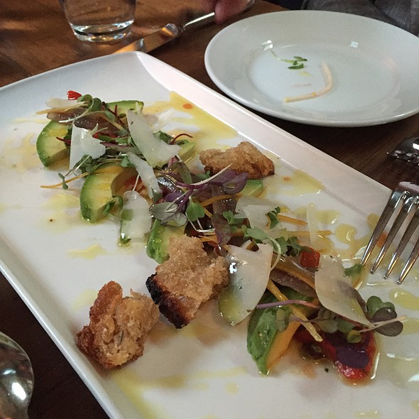 Brokaw Avocado And House-Cured Anchovies